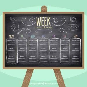 Cardápio da Semana